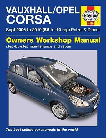 haynes manual m4886 amazon co uk car motorbike rh amazon co uk haynes manual corsa vxr haynes manual corsa e