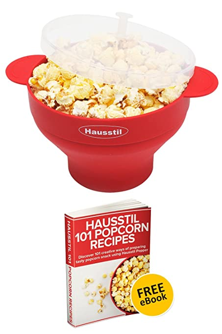 How to make air popped popcorn in microwave