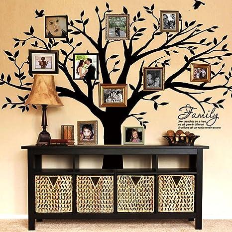 Amazon.com: Letras adhesivos de pared para árbol de la ...