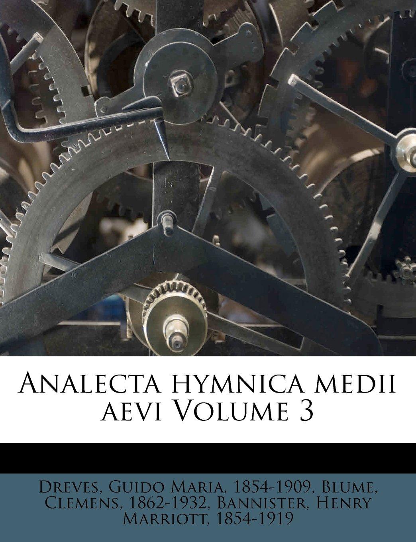Download Analecta hymnica medii aevi Volume 3 (German Edition) pdf epub