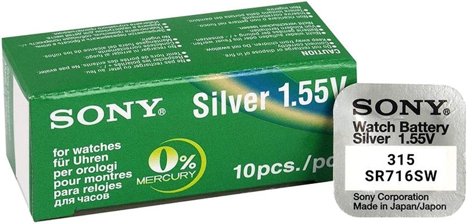 Sony 315 SR716SW Button Cell Battery