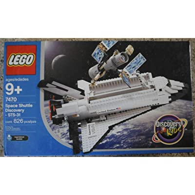 LEGO Discovery 7470: Space Shuttle Discovery by LEGO: Toys & Games
