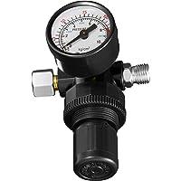 TecTake Manómetro con regulador reductor de presión