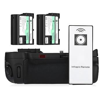 Powerextra MB-D15 Empuñadura de batería + 2 × alta capacidad 2200 ...