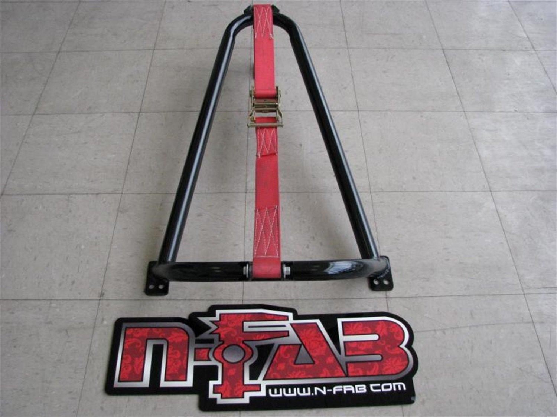 Black N-Fab BM1TCBK Tire Carrier