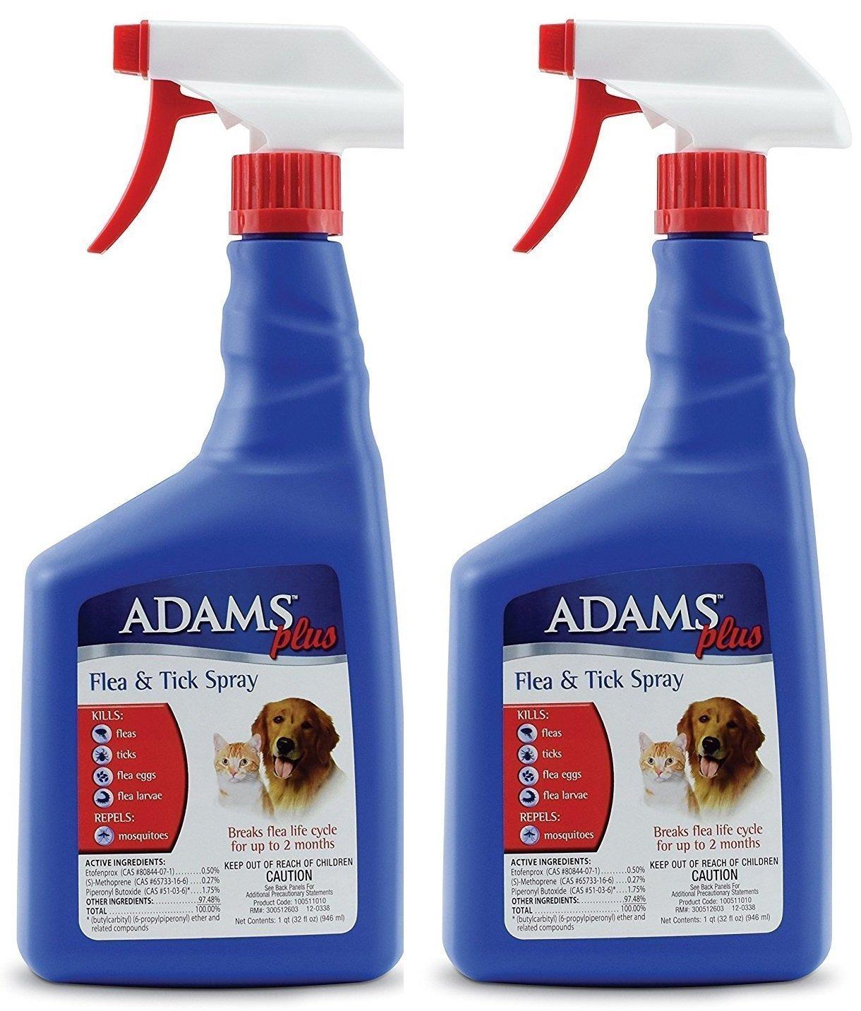 Adams Plus Flea & Tick Spray 32oz