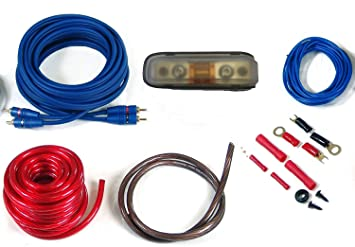 CAR HIFI Verstärker Endstufe Kabel Anschlusskabel: Amazon.de: Elektronik
