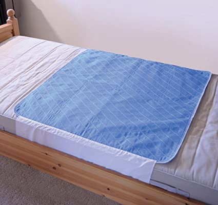 Aidapt - Cubrecolchón lavable (impermeable, con alas para ajustarlo por debajo del colchón)