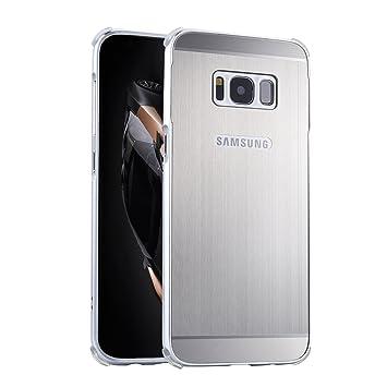 LXHGrowH Funda Samsung Galaxy S8, Prueba de Golpes Aluminio Metal ...