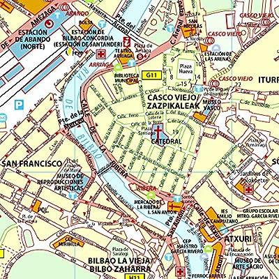Plano Plegable Bilbao: plano e indice (Planos Michelin): Vv.Aa, Vv.Aa: Amazon.es: Belleza