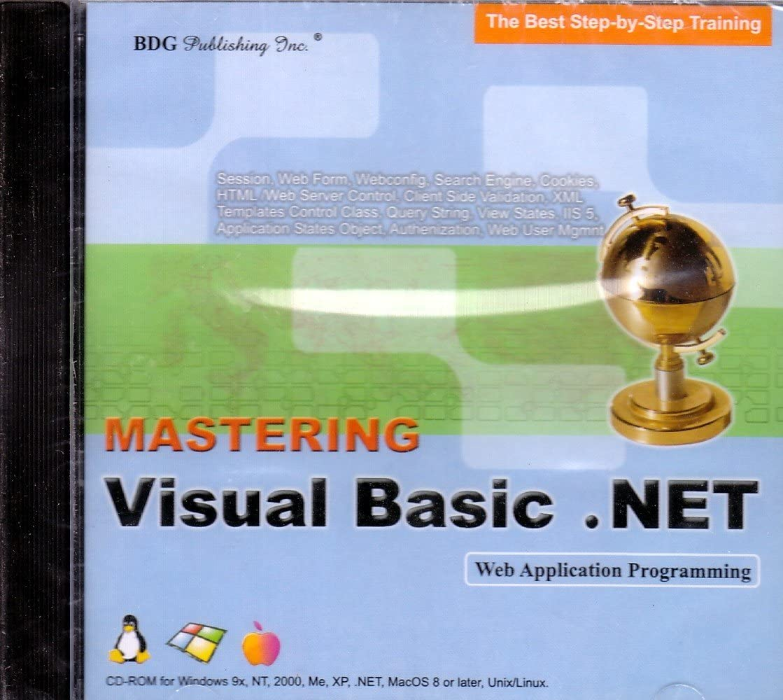 BDG PUBLISHING Mastering Visual Basic.NET: Web Applications (Windows/Macintosh) 71Hiawsn2BBL