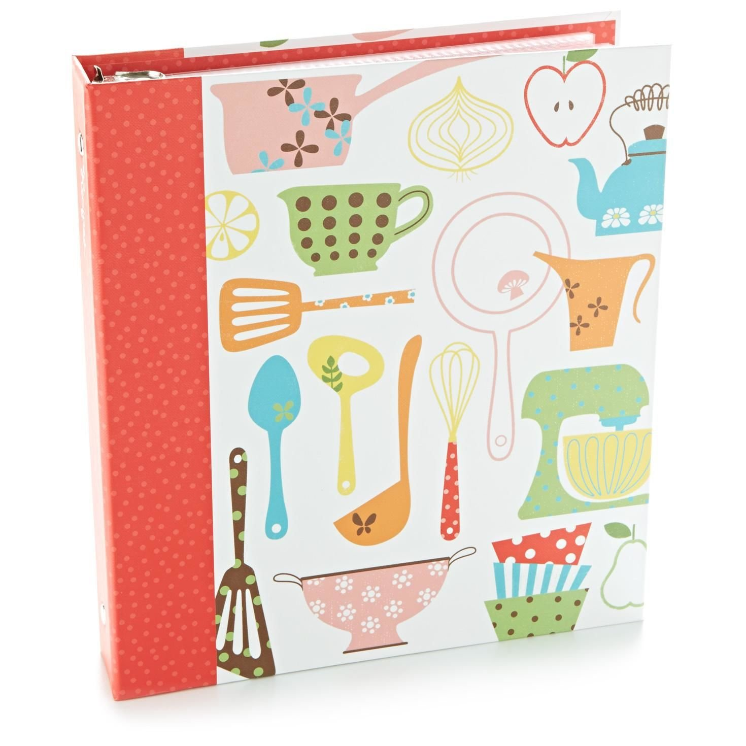 Hallmark Retro Recipe Binder