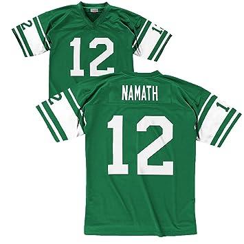 designer fashion d2687 b206a Mitchell & Ness Joe Namath New York Jets White Throwback Jersey