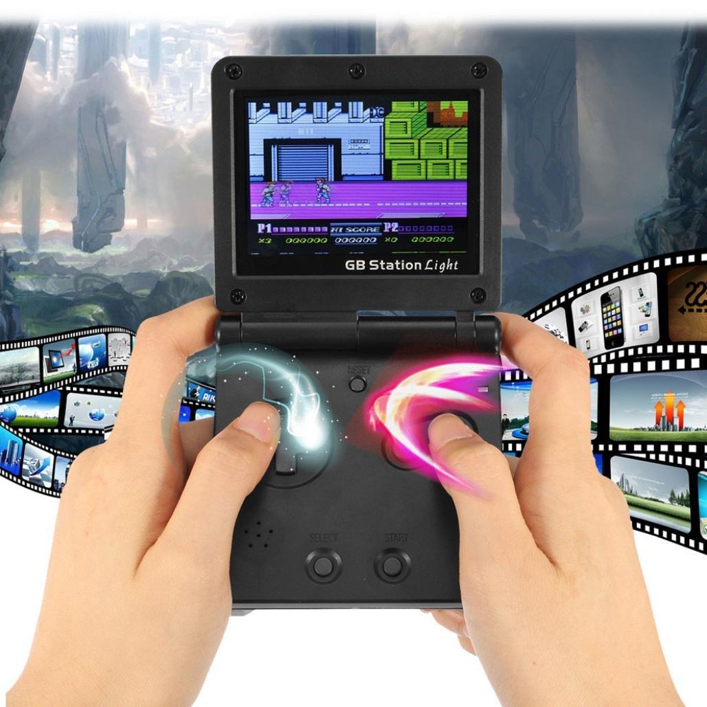 Amazon.com: Mini Retro Game Player, Glumes Handheld Video ...