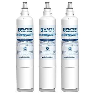 Waterspecialist 5231JA2006A Refrigerator Water Filter, Replacement for LG LT600P, 5231JA2006, 5231JA2006B, Kenmore 469990, 46-9990, 5231JA2006F, R-9990, 5231JA2006E (Pack of 3)