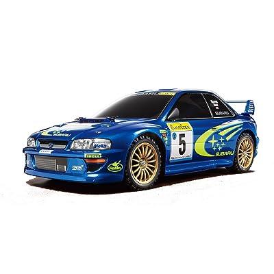 Tamiya America, Inc 1/10 1999 Subaru Impreza Monte-Carlo 4WD Rally TT-02 Kit, TAM58631: Toys & Games