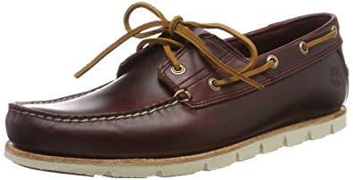 4a1304632f3 Timberland Men's Tidelands Classic 2 Eye Boat Shoes Red Redwood Hmg ...