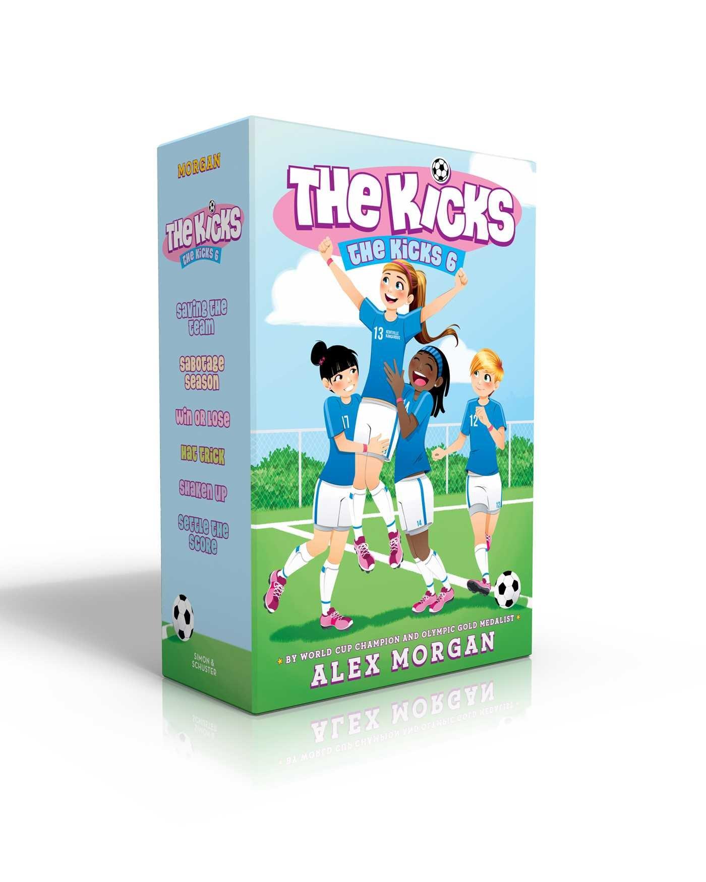 The Kicks 6: Saving the Team; Sabotage Season; Win or Lose; Hat Trick; Shaken Up; Settle the Score pdf