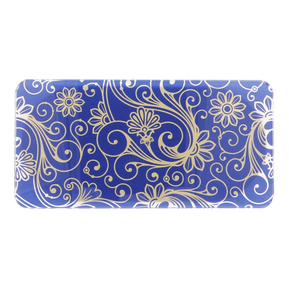 Báscula Digital de Precisión, Rango de Pesaje de hasta 150kg, Balanza de Baño Azul Marino, Electrónica Rey®: Amazon.es: Electrónica