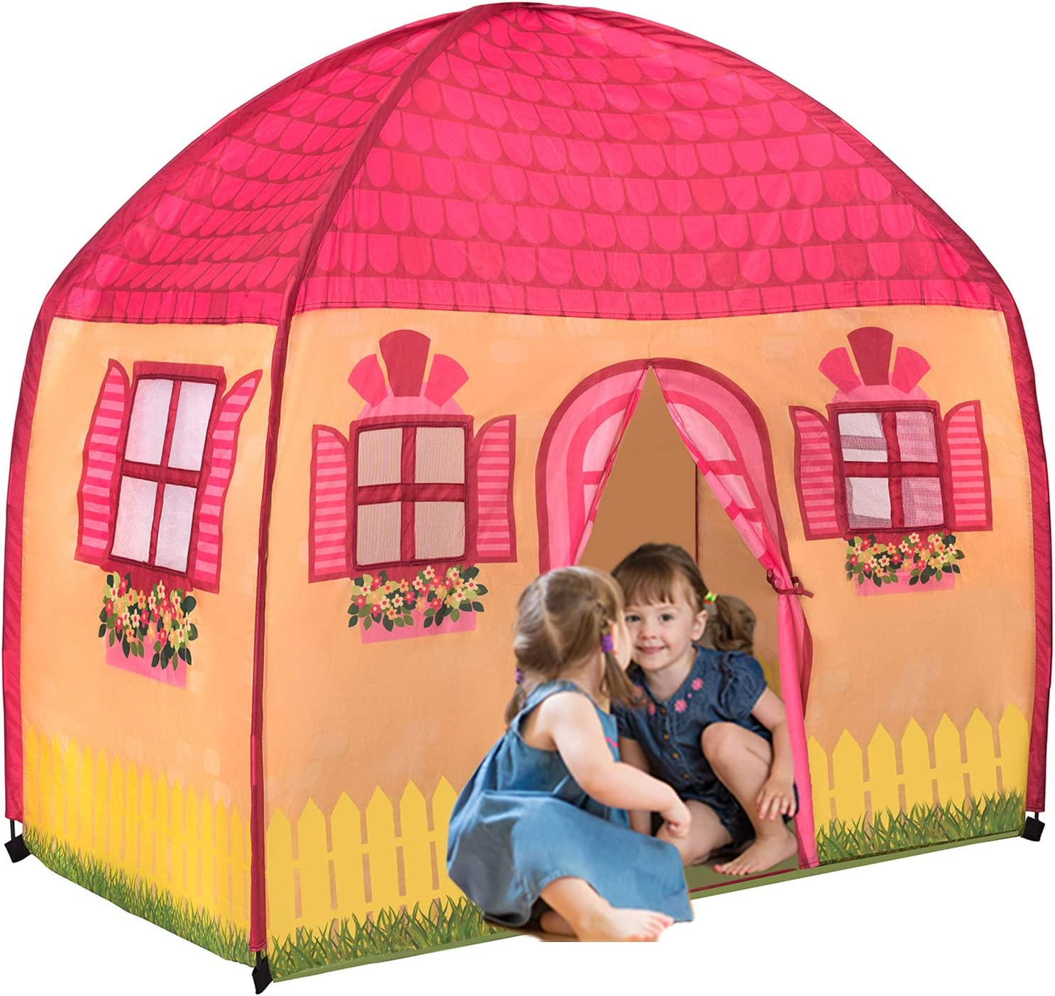 Childrens Designed Play Tent Indoor Outdoor Fun Playhouse Girls Boys Role Play