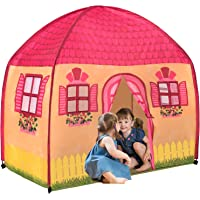 Toysical Play Tent for Girls - Indoor Playhouse Tents for Kids with Lifelike House Design - 1-2-3 Assembly - Best…