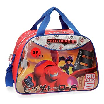 Disney Big Hero 6 Bolsa de Viaje, 24 Lt, Color Rojo