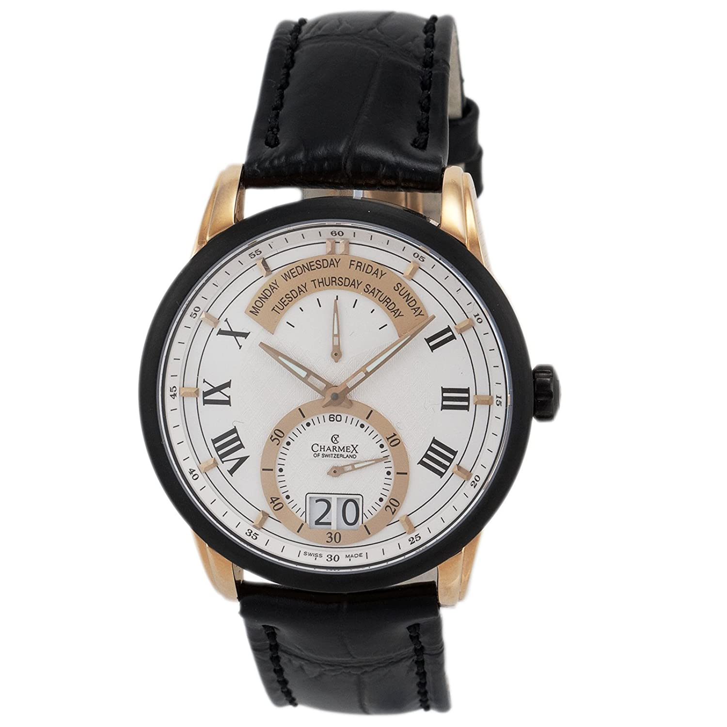 Charmex Men's 2145 Zermatt Retrograde Big Date Calendar Watch