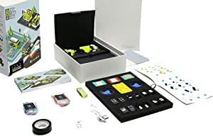 microduino Itty Bitty City, Educational STEM Toy to Learn Building, Coding and Electronics, 8-in-1 Creativity Project for Kids Aged 10+