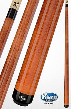Viking EE. UU. Taco de billar americano hecho billar Stick profesional calidad A2 no Wrap, Naranja (Autumn Orange): Amazon.es: Deportes y aire libre