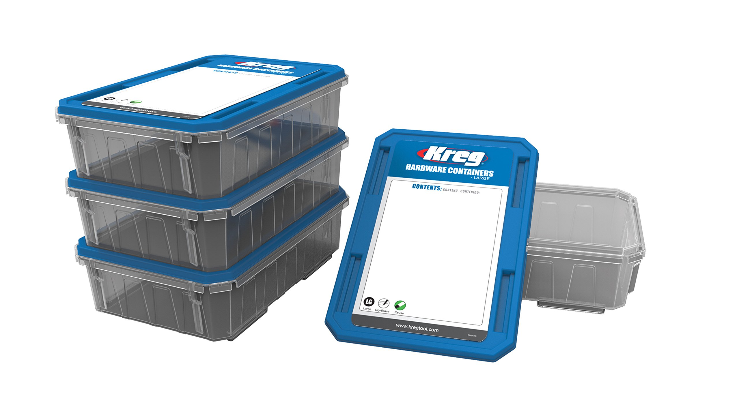 Kreg Tool Company KSS-L Hardware Container, Large by Kreg (Image #1)