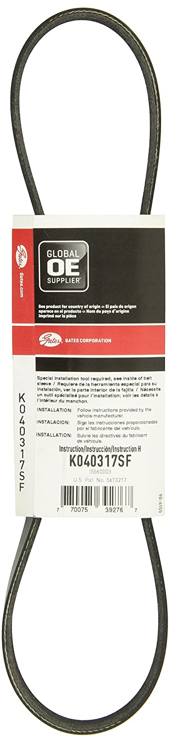 Gates K040317SF Serpentine Belt