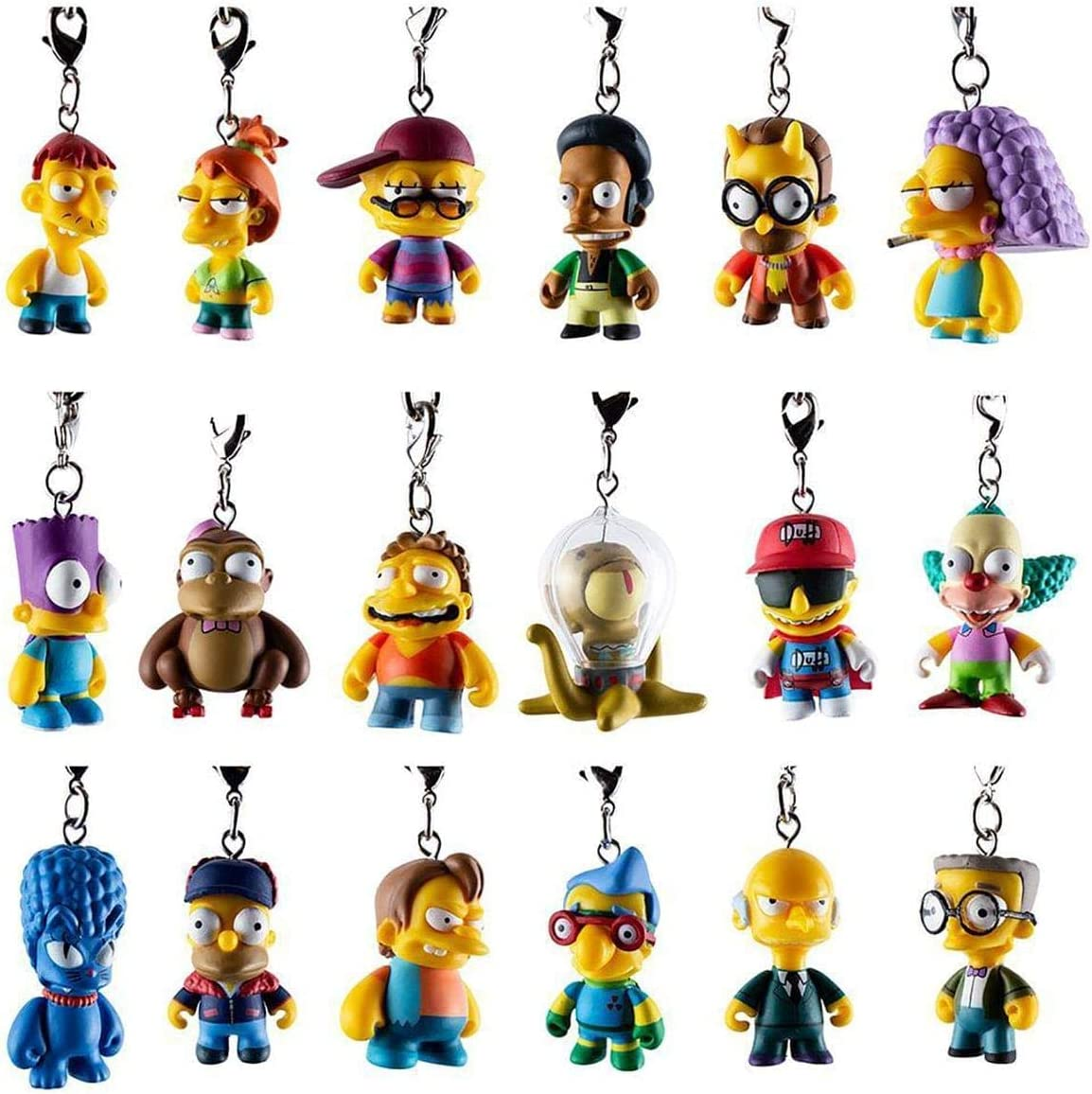 Kidrobot The Simpsons Crap-Tacular Keychain Series Blindbox ...