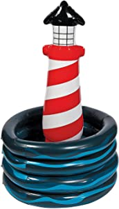 Inflatable Lighthouse Cooler for Summer