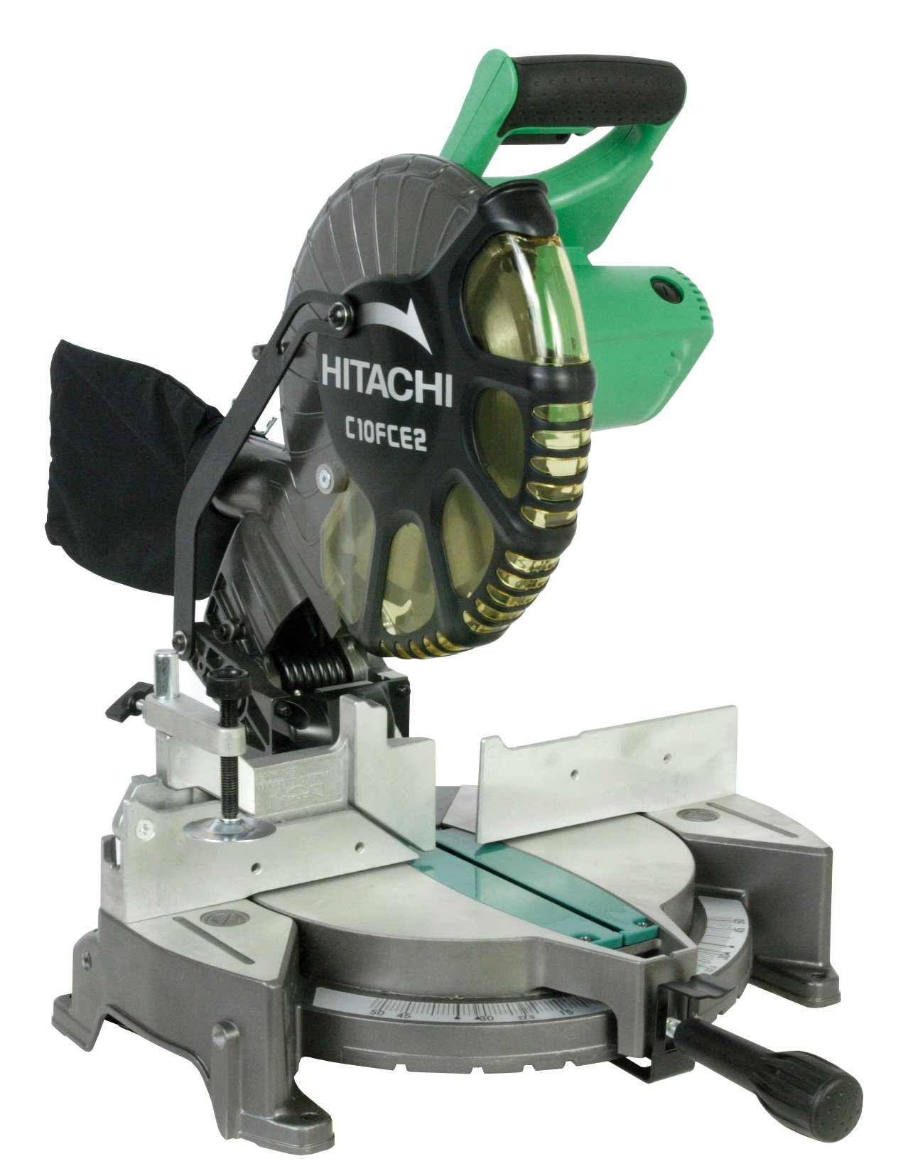 Hitachi C10FCE2 15-Amp 10-inch Single Bevel Compound Miter Saw by Hitachi