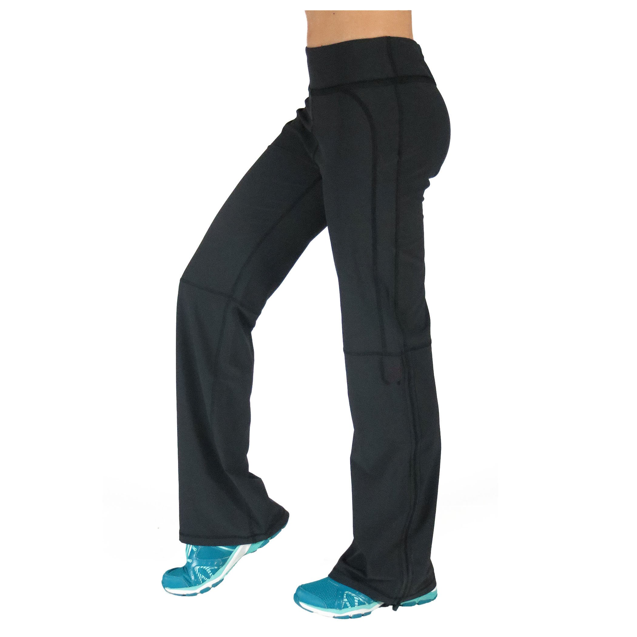 Alex + Abby Women's in-Motion Pant Medium Black