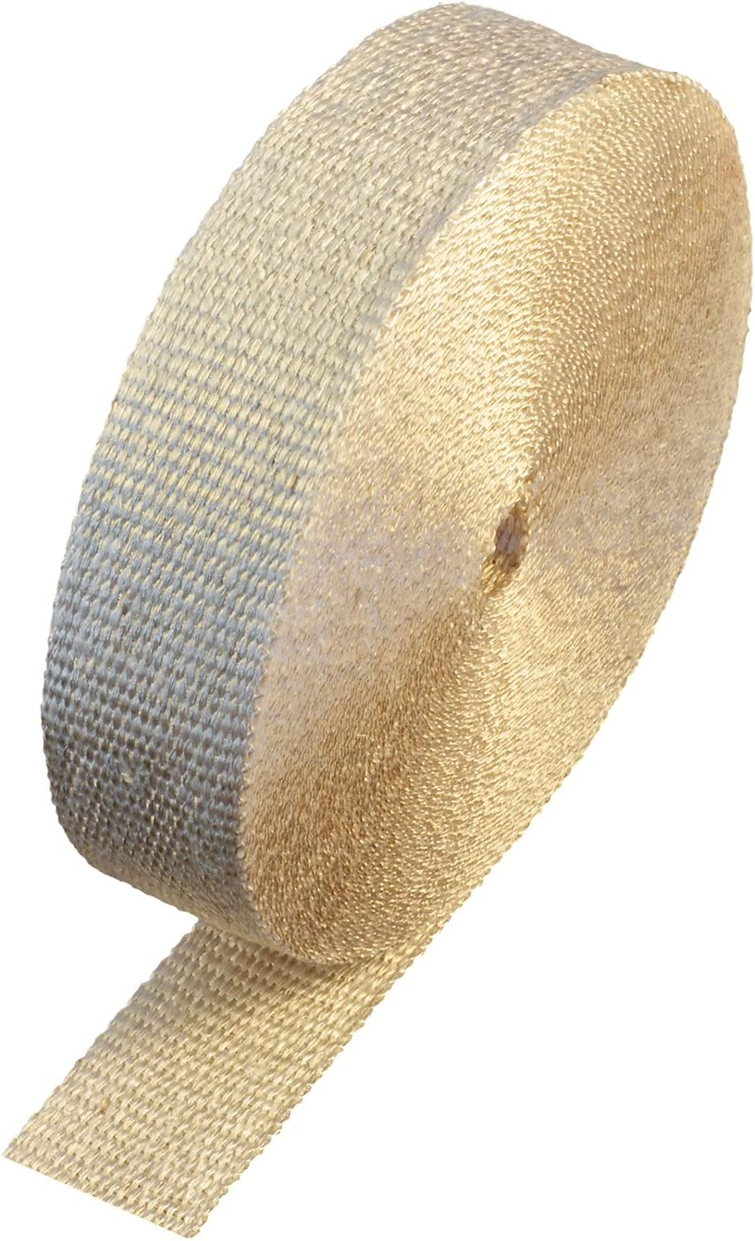 Off White 2x50 Roll Header Exhaust Wrap Heatshield Products HD32522 1//16 Thick