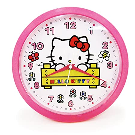 2012 HELLO KITTY Kids Decorative Analog Wall Clock