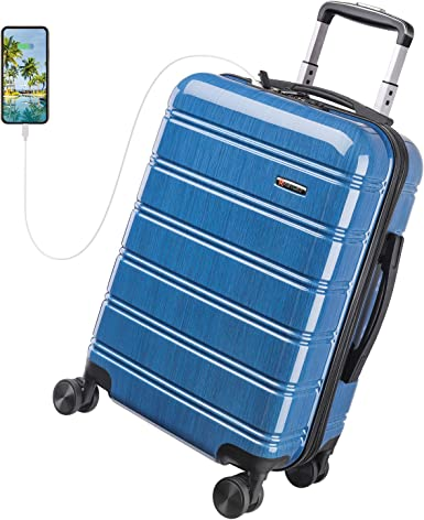 Amazon coupon code for Luggage 20 Inch Carry on Luggage Travel Suitcase
