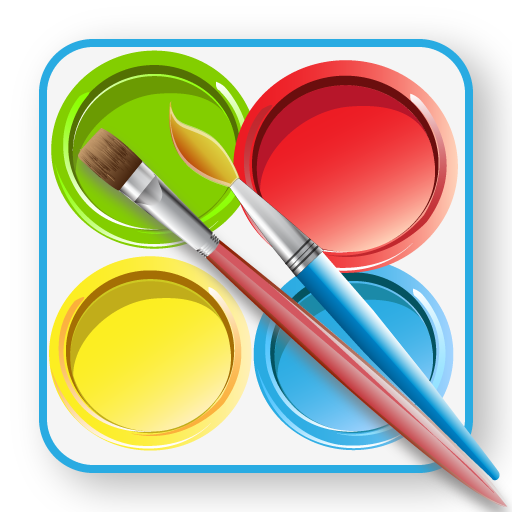 amazoncom kids paint color appstore for android - Paint Pictures For Kids