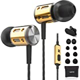 Betron AX1 Earphones in Ear Headphones Bass Driven Sound with Microphone for Iphone, Ipod, Ipad, for Samsung , Mobile Phones, Tablets, Computers and More