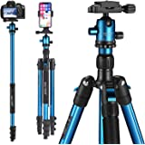 MACTREM Professional Camera Tripod DSLR Tripod for Travel, Super Lightweight and Reliable Sturdy, Ball Head Tripod…