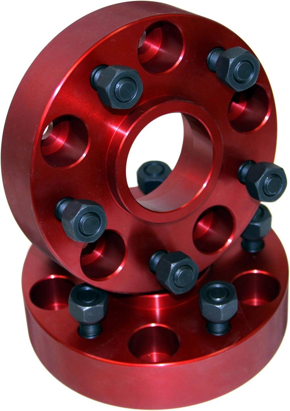 Alloy USA 11310 Wheel Adapter 1.25-Inch fits 84-06 Cherokee XJ//Wrangler YJ//TJ