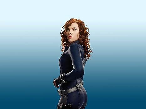 Posterhouzz Scarlett Johansson Actresses United States Black