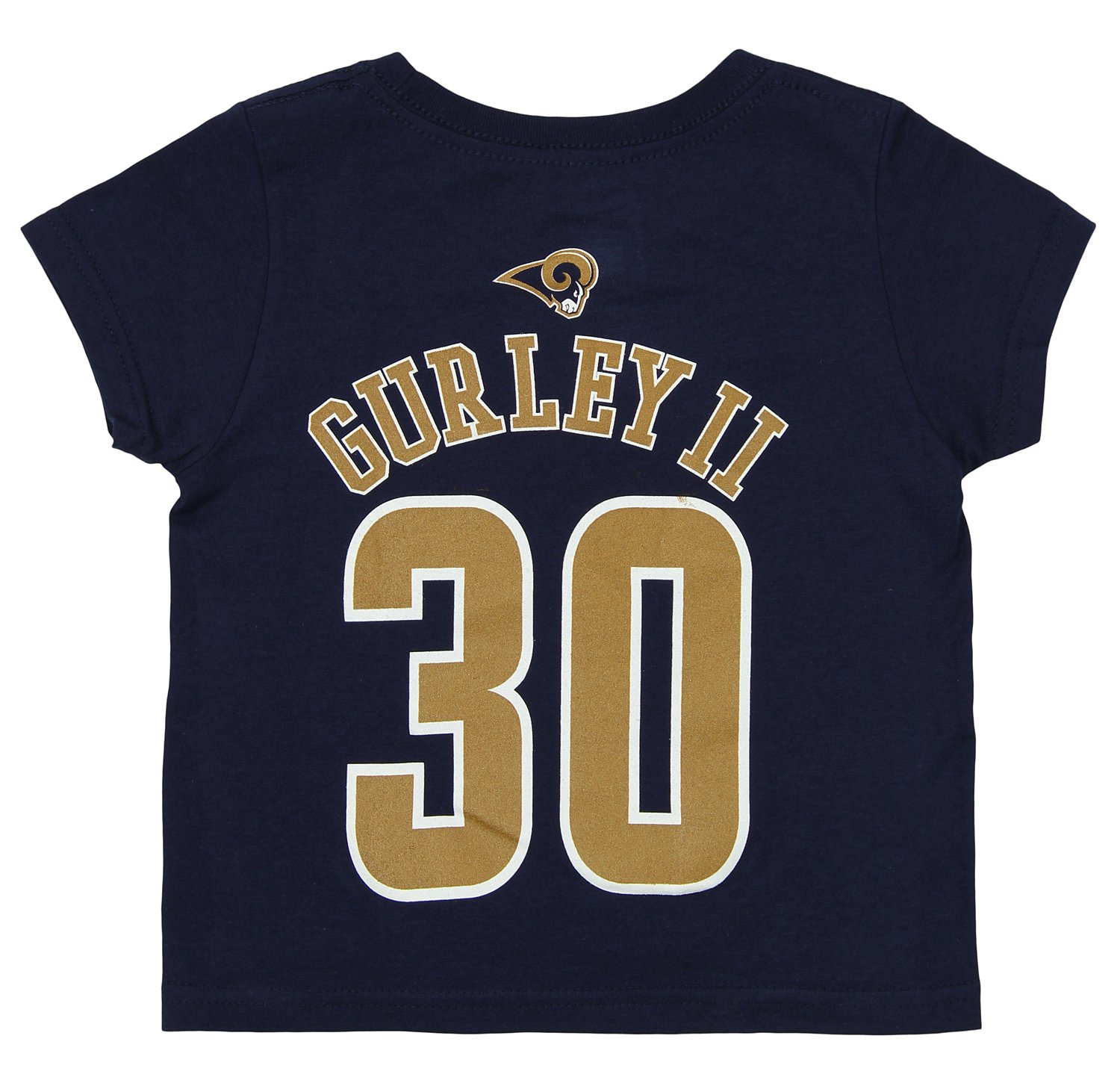 Amazon.com   Outerstuff NFL Toddler Los Angeles Rams Todd Gurley  30  Mainliner SS Tee 393afbeaf