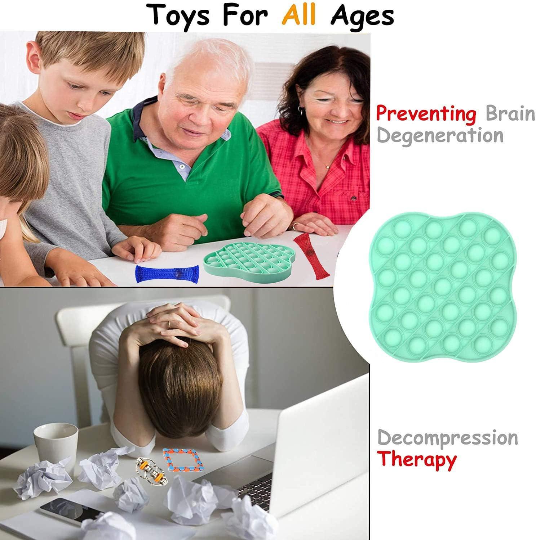 Fidget Toys Pack f/ür Erwachsene Und Kinder Geschenke Fidget Toy Set Anti Stress B/älle f/ür Stress und Angst Abbauen Anti Stress Spielzeug Set