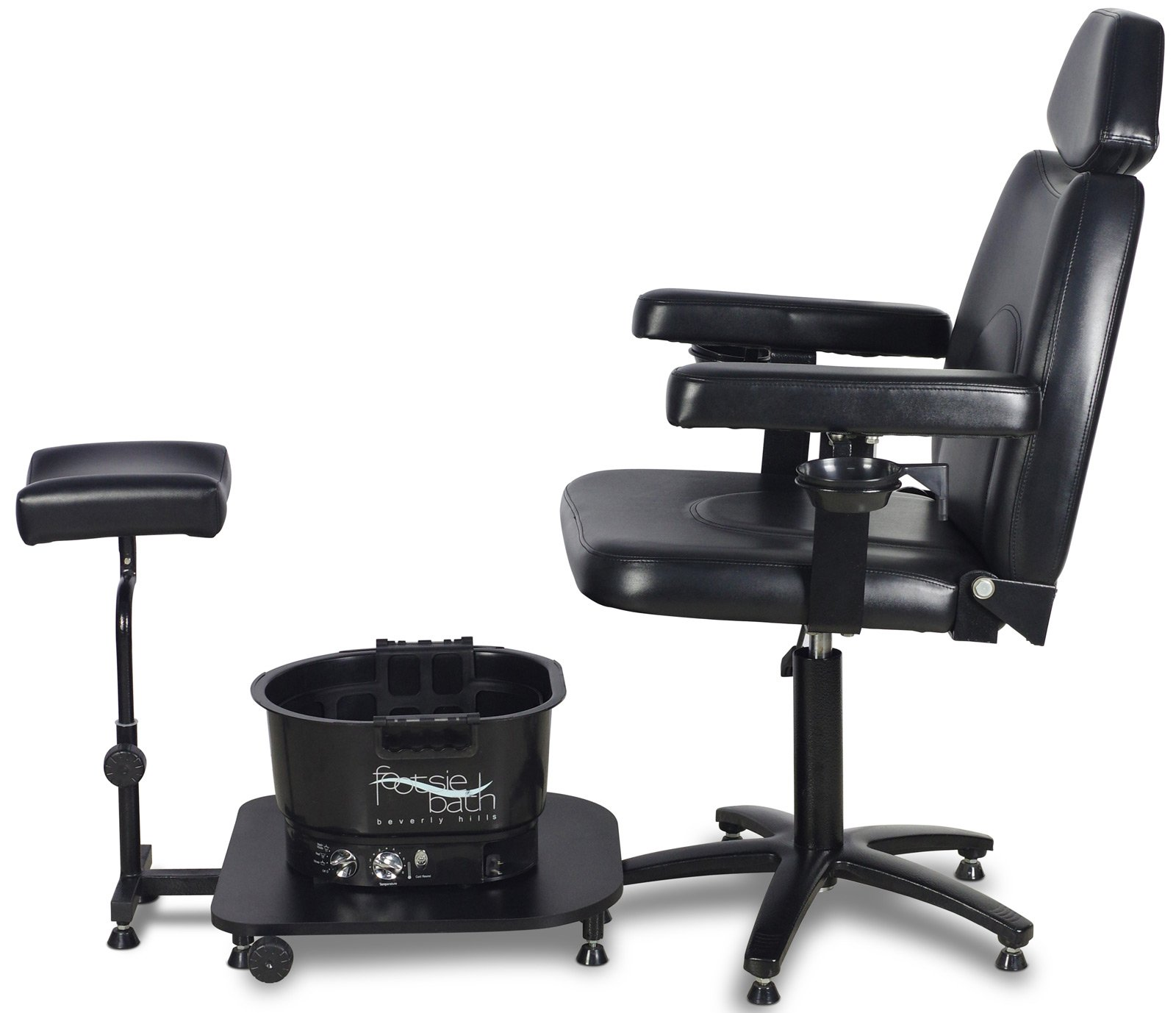 Icarus ''Zenith'' Black Pedicure Foot Spa Station Chair by Icarus (Image #5)
