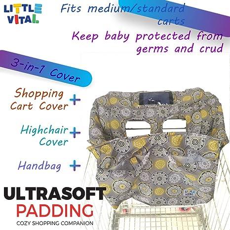 Amazon.com: Carrito de la compra cubierta: Baby