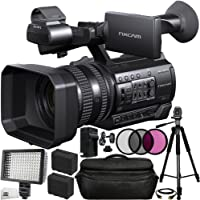 40da49ed9 Sony HXR-NX100 HD NXCAM Camcorder 13PC Bundle. Includes 2 Replacement F970  Batteries +