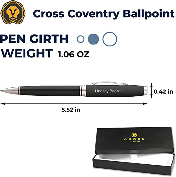 Chrome Coventry Pen Ballpoint