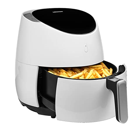 MEDION MD 18290 Hot air fryer 4,5 L Solo Negro, Blanco Independiente 2000